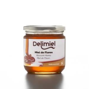 Envase Miel de Mil Flores Delimiel 400gr
